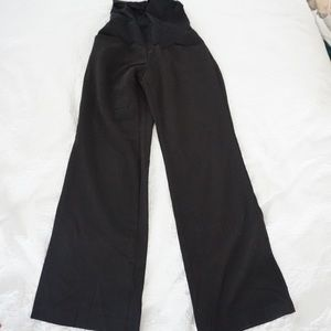 Maternity black trousers